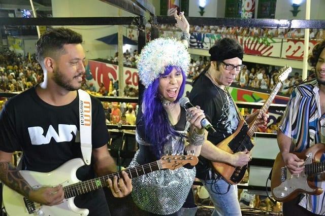 Baby do Brasil, Paulinho Boca e Gilmelândia fizeram a festa no Carnaval da Bahia
