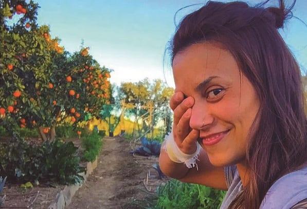 Diário de Bordo: Ex-BBB Angélica Morango troca o Brasil por fazenda orgânica na Europa