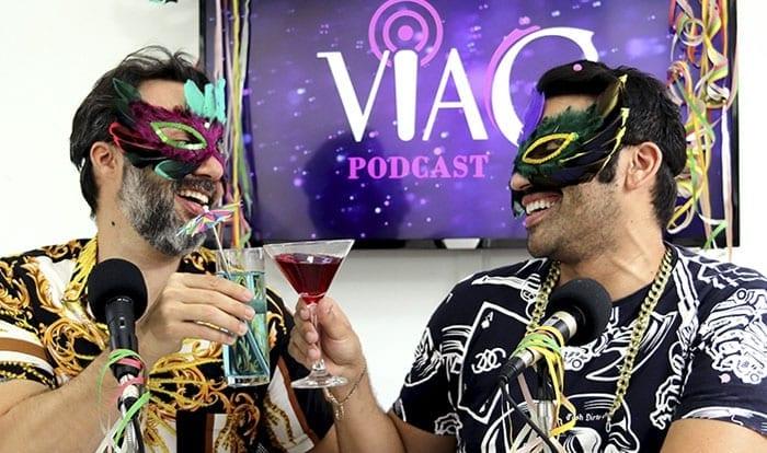 """Clima de folia! """"Carnaval"""" é o tema do A GENTE TEM QUE FALAR #3 – VIAG PODCAST"""